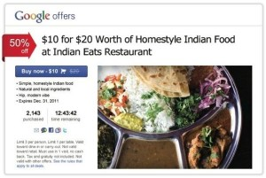 Google Offers takes on Groupon