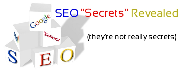 Web Design search engine optimization secrets