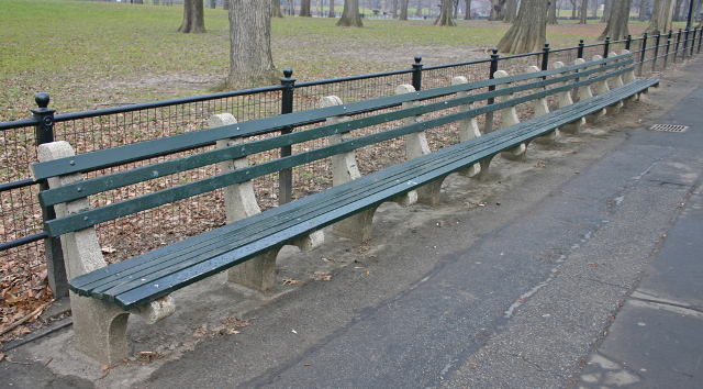 Wilson Media shares a New York Bench